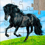 Horse Jigsaw Puzzles Game – For Kids & Adults 🐴 26.1  MOD APK