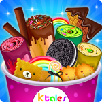Ice Cream Rolls Maker- Rainbow Sandwich Food Stall 2.0 MOD APK