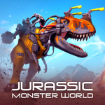 Jurassic Monster World: Dinosaur War 3D FPS 0.11.0 MOD APK