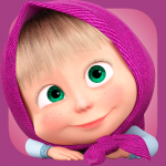 Masha and the Bear. Games & Activities 5.3  MOD APK
