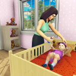 Real Mother Simulator 3D – Baby Care Games 2020 1.0.1 MOD APK