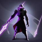 Shadow Knight Premium: New Fighting Game  1.1.533 MOD APK