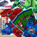 Transform Dino Robot – General Mobilization  1.31.2 MOD APK