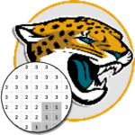 American Football Logo Color By Number – Pixel Art 7.0 MOD APK