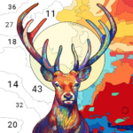 Animals Paint By Number – Coloring Books Free 1.0.2-beta MOD APK