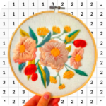 Coloring Stitch By Number 4.0 MOD APK