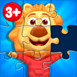 Puzzle Kids Animals Shapes and Jigsaw Puzzles  1.4.1 MOD APK