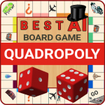 Quadropoly Best AI Board Business Trading Game  1.78.83 MOD APK