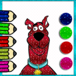 Scooby coloring doo book 1.2 MOD APK