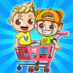 Vlad & Niki Supermarket game for Kids 1.0.95 MOD APK
