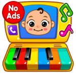 Baby Games Piano, Baby Phone, First Words  1.2.7 MOD APK