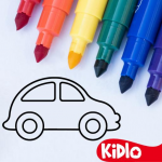 Coloring Games for Kids – Drawing & Color Book 2.4.5 MOD APK