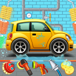 Kids Car Wash Service Auto Workshop Garage  2.8 MOD APK
