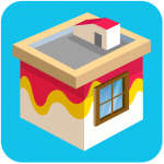 Paint wall | Exciting House Painting Puzzle Game 8.53 MOD APK