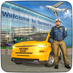 Real Taxi Airport City Driving-New car games 2020 11.8 8 MOD APK