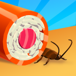 Sushi Roll 3D Cooking ASMR Game  1.5.1 MOD APK