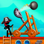 The Catapult: Castle Clash with Awesome Pirates 1.3.0 MOD APK