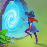 Charms of the Witch: Magic Mystery Match 3 Games  2.36.1 MOD APK