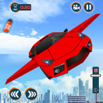 Flying Car Shooting Games – Drive Modern Cars Game 1.7 MOD APK