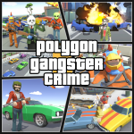 Grand City Theft War: Polygon Open World Crime  2.1.7 MOD APK