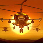 Gunship Force Free Helicopter Games Attack 3D  3.66.9 MOD APK