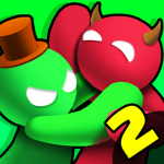 Noodleman.io 2 – Fun Fight Party Games 2.8 MOD APK