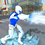 Snow Storm Super Human: Flying Ice Superhero War 1.0.5 MOD APK