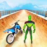 Superhero Bike Stunt GT Racing – Mega Ramp Games 1.15 MOD APK