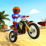 Bike Beach Game: Stunt and Racing Motorcycle Games  7.7 MOD APK