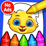 Coloring Games: Coloring Book, Painting, Glow Draw 1.0.9 MOD APK