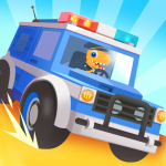 Dinosaur Police Car – Police Chase Games for Kids 1.1.3 MOD APK