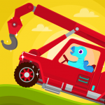 Dinosaur Rescue – Truck Games for kids & Toddlers 1.1.0 MOD APK