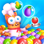 Kitten Games – Bubble Shooter Cooking Game 1.2 MOD APK