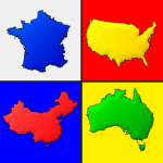 Maps of All Countries in the World: Geography Quiz 3.1.0 MOD APK