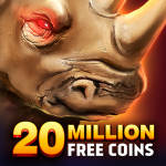 Rhino Fever: Free Slots & Hollywood Casino Games 1.50.7 MOD APK