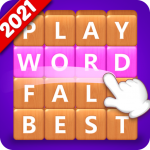 Word Fall Brain training search word puzzle game  3.1.3 MOD APK