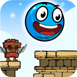 Blue Ball 11 Bounce Ball Adventure  2.1 MOD APK