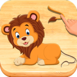 Jigsaw Puzzles For Kids – Animals Shapes 1.6 MOD APK