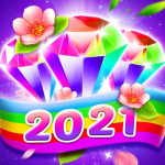 Bling Crush: Free Match 3 Jewel Blast Puzzle Game 1.4.8 MOD APK