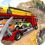 Vehicle Transporter Trailer Truck Game  MOD APK