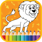 Kids Coloring Book : Cute Animals Coloring Pages  MOD APK