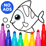 Learning & Coloring Game for Kids & Preschoolers  29.0 MOD APK